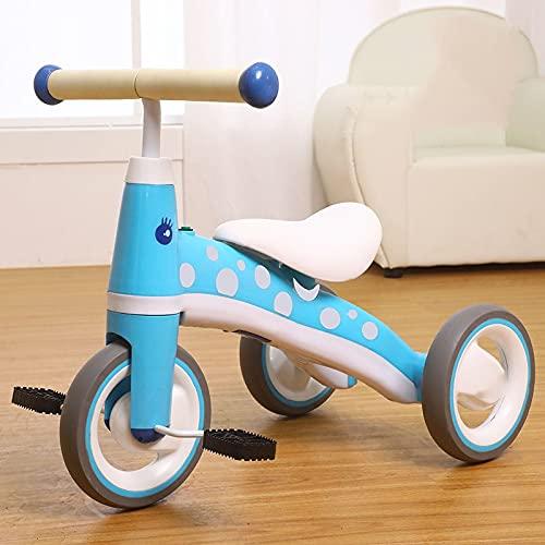 XHJJ Bicicletas para Niños, Cochecitos De Bebé Aptos para Niños De 2, 3 Y 4 Años, Bicicletas De Pedales para Niños Y Niñas, Triciclos para Bebés, Son Regalos Originales Ideales para Bebés Y Niños.