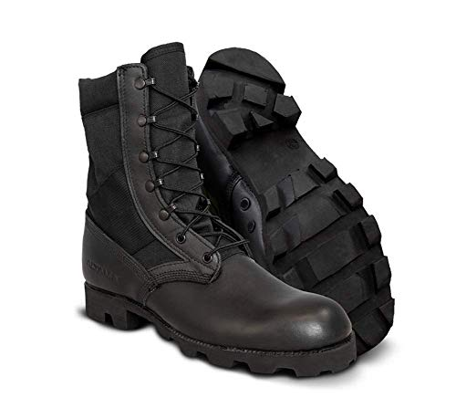 Altama Jungle PX 10.5' Men's Slip Resistant Boot, Size 10 Regular, (Black)