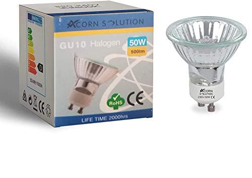 AcornSolution 50W GU10 Halogenreflektor-Scheinwerferlampen (6er Pack)