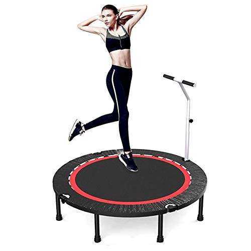 TRAMPOLINE AGYH 48in Foldable Mini, Stable And Quiet Sports Bounce Bed, Very Suitable For Adult And Children Body Fitness Training Exercise, Safe Load 300kg