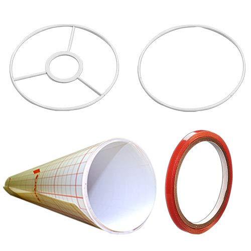 Lámpara Pantalla Kit para construir, cilíndrica 20cm
