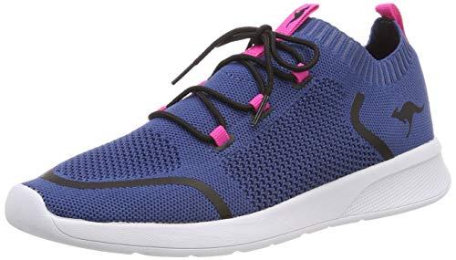 KangaROOS Unisex-Erwachsene KangaFOAM Sock Sneaker, Blau (Iced Blue/Daisy Pink 4219), 41 EU
