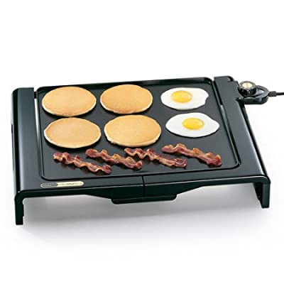 Presto Cool Touch Kitchen Cooking Electric Foldaway Indoor Griddle