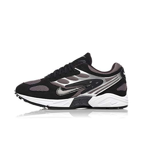 Nike Herren Air Ghost Racer Traillaufschuhe, Mehrfarbig (Black/Black-Dark Grey-White 2), 46 EU