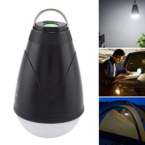 Ampoule de Camp de Tente, Lampe de Tente extérieure de Chargement USB Lampe LED avec télécommande pour Camping Lampe de Tente d'urgence de Camping Lampe de Tente LED Portable