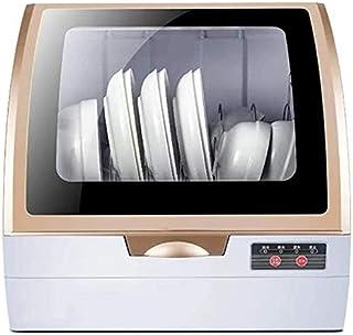 Lavavajillas automático inteligente, instalación gratuita de escritorio en el hogar, pequeño secado y desinfección al aire, lavavajillas inteligente, limpieza de agua blanda, mantenimiento doble