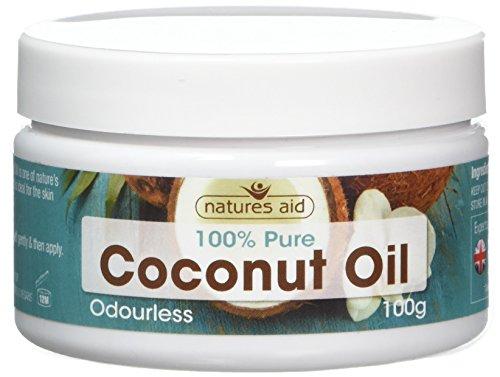 Natures Aid Olio di cocco - 100g