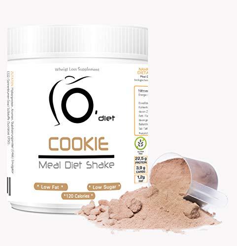 Shake Dietetico Proteico pasto sostitutivo Meal Diet Shake Line@Diet, frullato DIMAGRANTE, ideale per chi è a DIETA! Altissima solubilità (COOKIE 500g)