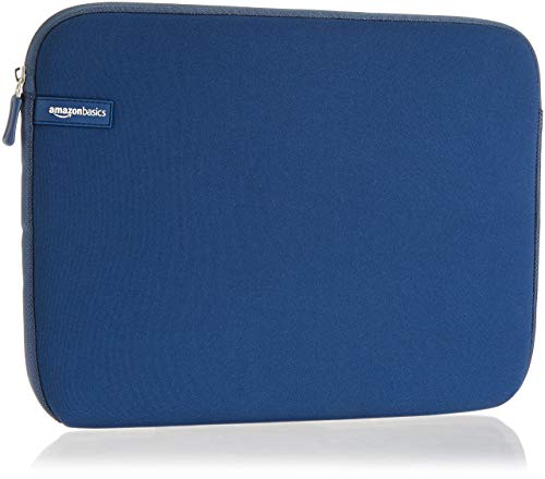 Amazon Basics, custodia per laptop, 13,3 pollici, marina