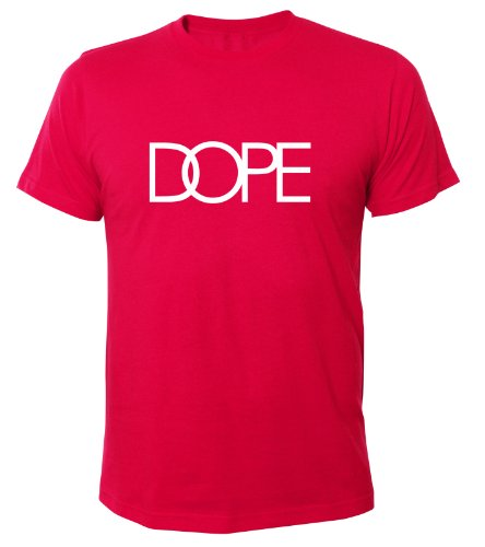 Mister Merchandise Homme Cool Chemise T-Shirt DOPE , Size: XXL, Color: Pink