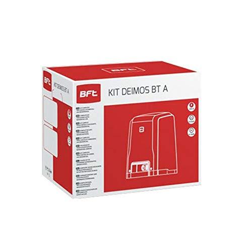 BFT Kit de puerta corredera automática Deimos Motor A600 24V 600 Killogram Residencial Uso residencial R92527000002