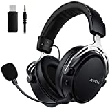 Ultimate In-game Sounds - Get immersed in 3D audio experience provided by 50mm driver and 2 double chamber drivers. Hear every sound all over the game 2.4GHz Wireless Connection - Wireless Connection with PS4 PC. Wired compatibility via 3.5mm cable w...