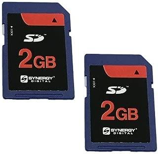 Canon Powershot A620 Digital Camera Memory Card 2x 2GB Standard Secure Digital (SD) Memory Card (1 Twin Pack)
