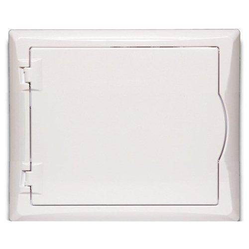 Sicherungskasten Kleinverteiler IP40 Unterputz 8 Module 1-reihig inkl. Hutschiene und PE-/N-Klemmen Control LUX-PLUS
