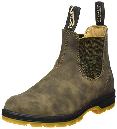 Blundstone Women's Chelsea Boot, Rustic Brown, 7.5 us