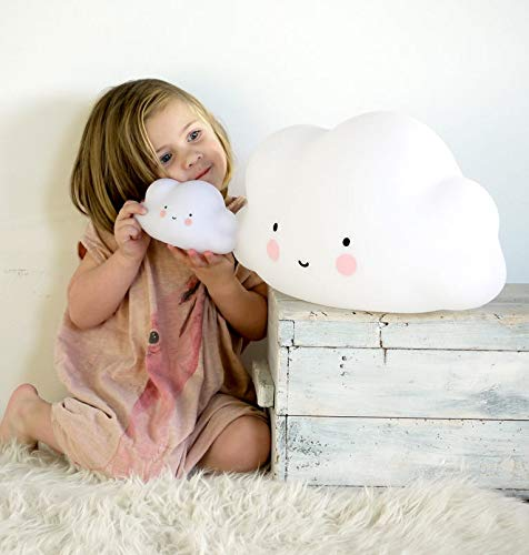 A little lovely company Nachtlicht LED Lampe Wolke Cloud - weiß