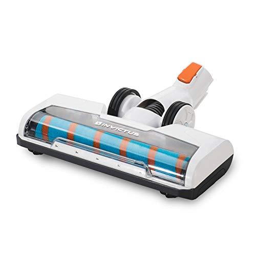 Genius Invictus X7 X5 Akku-Staubsauger Motorisierte Ultra-Soft-Bürstenrolle mit LED Lichtern 10.000 U/min - zur Reinigung von Hartböden wie Parkett, Fließen und Stein