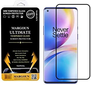 MARGOUN for OnePlus 8T Screen Protector Edge to Edge 3D Tempered Glass