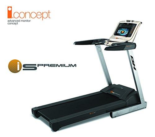 BH Fitness i-S PREMIUM G6315 klappbares laufband, 1-18 km/h, 2,75 ps motor, elektrische steigungsverstellung, 135 x 45 cm lauffläche, smartphone/tablet kompatibel