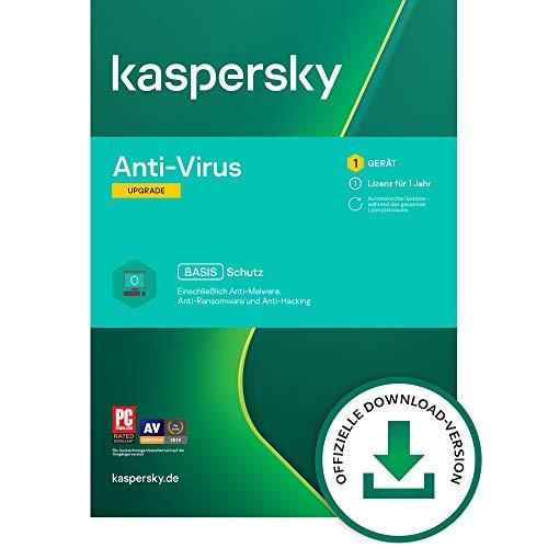 Kaspersky Anti-Virus 2021 Upgrade | 1 Gerät | 1 Jahr | Windows | Aktivierungscode per Email