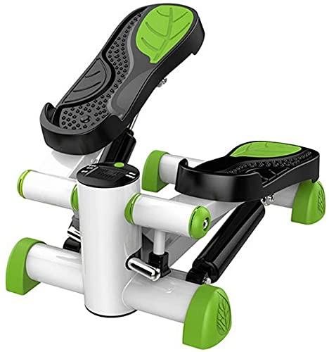 LCJD Bicicleta de Ejercicio Stepper Fitness Cintas de Correr multifuncionales Correr Adelgazar Pedal Ejercitador Mini Ejercicio Máquina de pérdida de Peso de Entrenador Cruzado