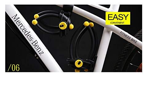 Roestvrij staal LJ Anti-Hydraulische Shear Mountainbike Lock, Vouwen Vier-sectie Elektrische Motorfiets Anti-Diefstal Apparatuur Accessoires