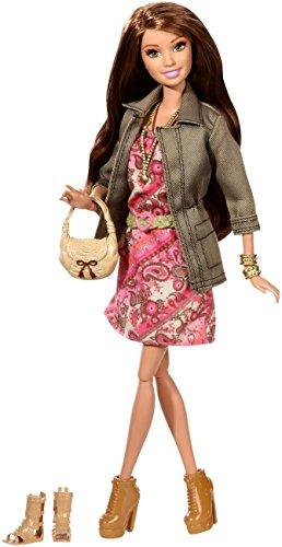 Barbie Mattel CFM78 - Deluxe-Moden Fashionistas Teresa mit Blumenkleid