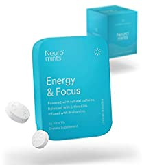 ENERGY + FOCUS + CLARITY: Neuro Mints' quick release formulation contains the ideal balance of nootropics designed to give you a clean and balanced boost. QUICK EFFECTS: Our patented cold compression system maximizes the delivery and bioavailability ...