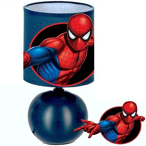 Lampe de chevet SPIDERMAN création artisanale N° 2