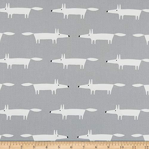 Freespirit Fuchs-Stoff – Fuchsgrau – 0,5 Meter – 100% Baumwolle