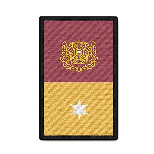 Copytec Rank Patch Polizei Österreich Major (Mjr) Rang Dienstrang 9,8 x 6cm#37142