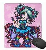 Mause Mat Kleines Fräulein Deelish Fairy Unicorn Princess Fantasy Mauspad Mousepad Mauspad Mauspads Gaming Mat 25X30Cm