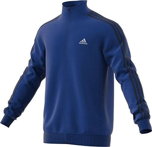 adidas Men's Essential Tricot Jacket, Collegiate Royal/Black, XXX-Large Tall