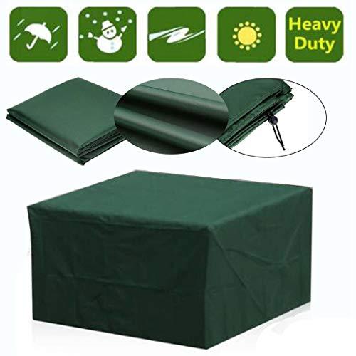 WZ Waterdichte 210T Tuinafdekkingen rotan tafel stoel stofbestendig patio beschermhoes salon terras regen sneeuw stofdichte covers, M