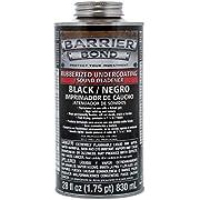 Custom Shop Barrier Bond Black Rubberized Undercoating Sound Deadener - Quart Can with 28 Fluid Ounces