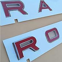 レンジローバーヴェラールSVディスカバリースポーツ、エディション用カースタイリングフードトランクロゴバッジステッカー
