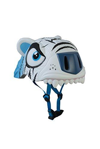 ABUS The Cool Tiger, Casco Unisex Bambini, Bianco, S