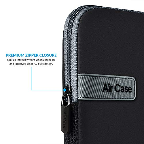 AirCase Laptop Bag Sleeve Case Cover for 15.6-Inch Laptop MacBook