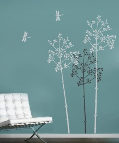 Large Stencil Max 85% OFF Going to Finally resale start Seed - reusable wall better stencils Easy