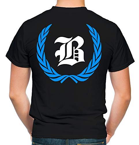 Berlin Kranz T-Shirt | Liga | Trikot | Fanshirt | Bundes | M1-blau (L)