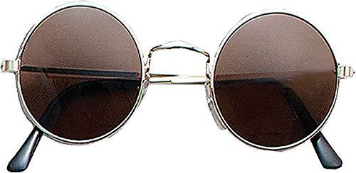 Ozzy Osbourne Hippie Fancy Party 1970er Shades Pop Star Fake John Lennon Brille - - Clear, Einheitsgröße, Einheitsgröße