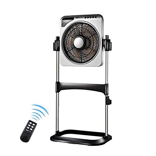 Fans standing Ventilador de refrigeración eléctrico de pie, Ventilador Giratorio de Ahorro...