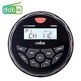 Ricevitore stereo Bluetooth impermeabile con lettore MP3 sulla radio DAB+/AM/FM e USB per ...