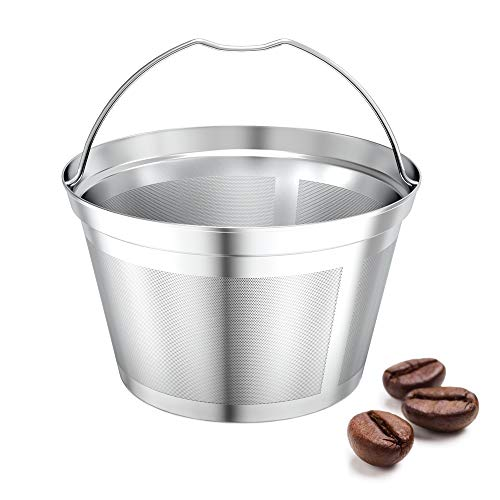 Nicelucky Bunn coffee filter reusable 8 10 12 cup basket replacement filter-stainless steel Permanent coffee filter Suitable for BUNN coffee brewer