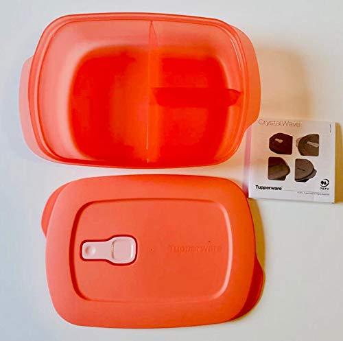Tupperware Tartera para microondas, 1000 ml, con separador, para el colegio