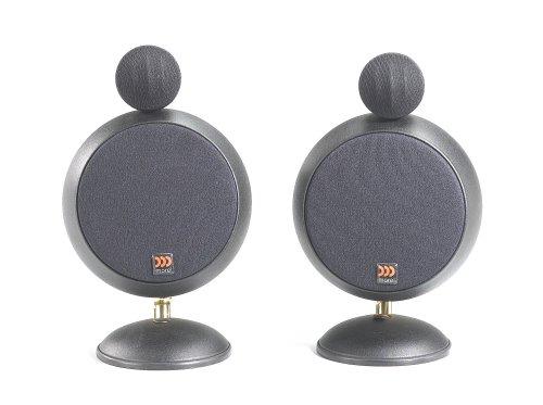 peerless satellite speakers Morel SoundSpot SA-2 Satellite Speakers, Black (Pair)