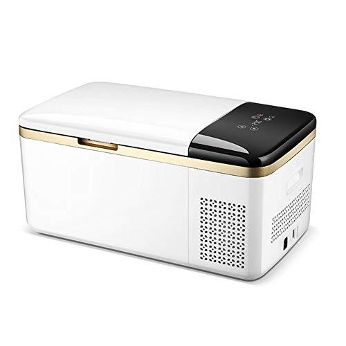 Preisvergleich Produktbild LYZL Auto-Kühlschrank,  20L Kompressor-Kühlbox,  Quiet 35dB Betrieb,  mit Temperaturanzeige,  Praktische Tragegriff für Auto Camping