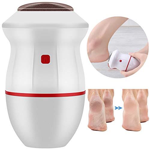 Rehomy Lima de pie eléctrica USB portátil de adsorción para pies callos...