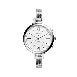 Fossil Hybrid Smartwatch – Annette Stainless Steel FTW5026
