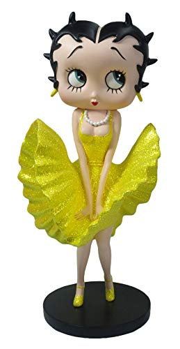 Betty Boop Cool Breeze (Gele Glitter Jurk) - 32cm Collectable Figurine